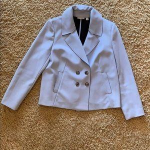 Halogen light blue short jacket size Large
